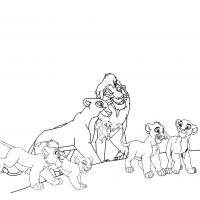 Kovu coloring pages