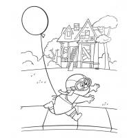 Up coloring pages