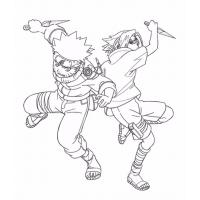 Naruto shippuden coloring pages