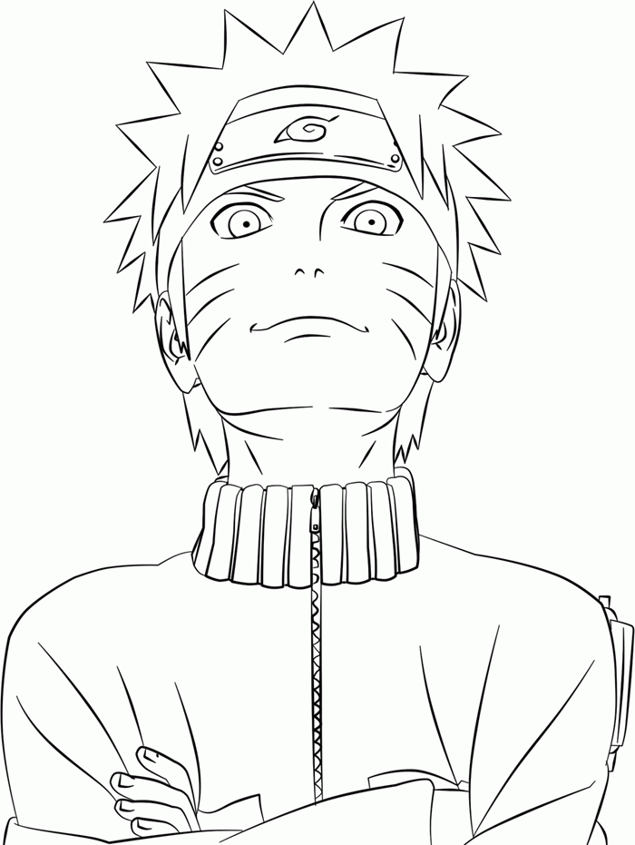 naruto shippuden coloring pages - Naruto Coloring Pages To Print