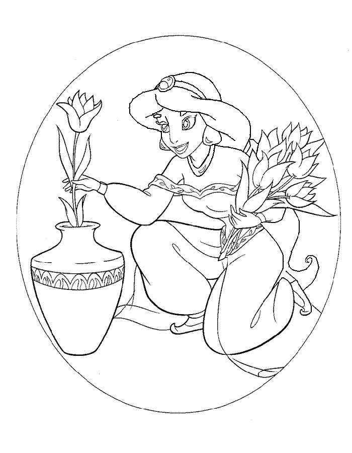 alladin castles coloring pages | Aladdin coloring pages