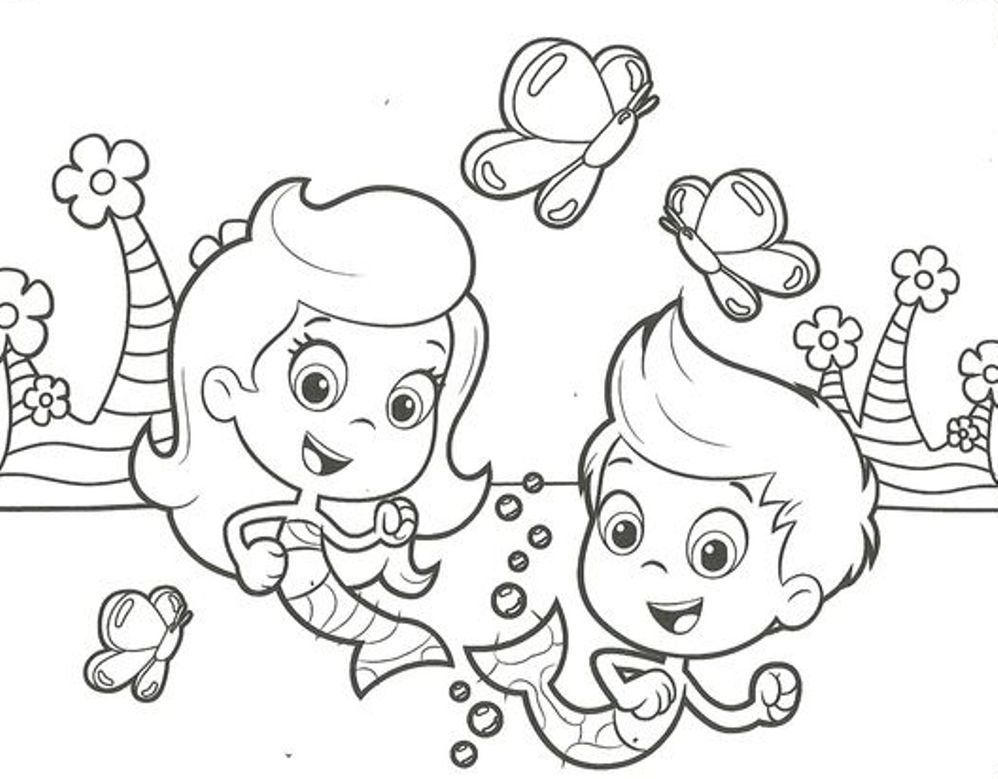 Bubble Guppies Coloring Pages Alluring Bubble Guppies Coloring Pages Design Decoration