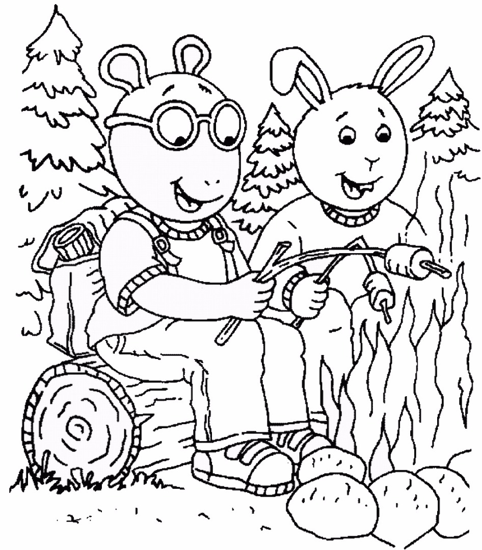 coloring pages for arthur - photo #15