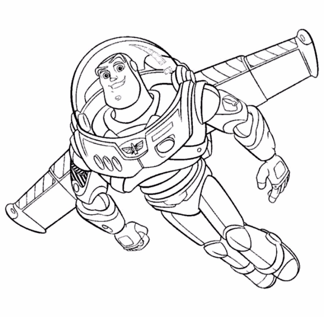 lightyear coloring pages