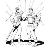 Captain planet coloring pages