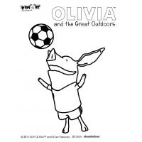 Olivia coloring pages