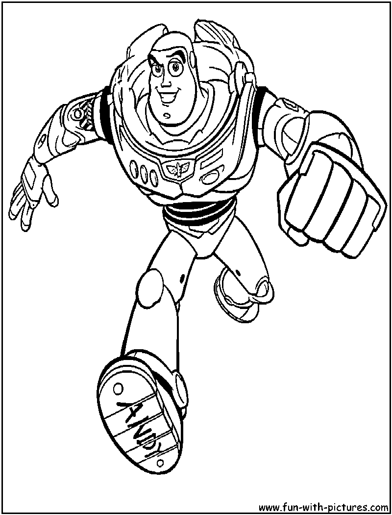 buzz and zurg coloring pages - Buzz Lightyear Face Coloring Pages