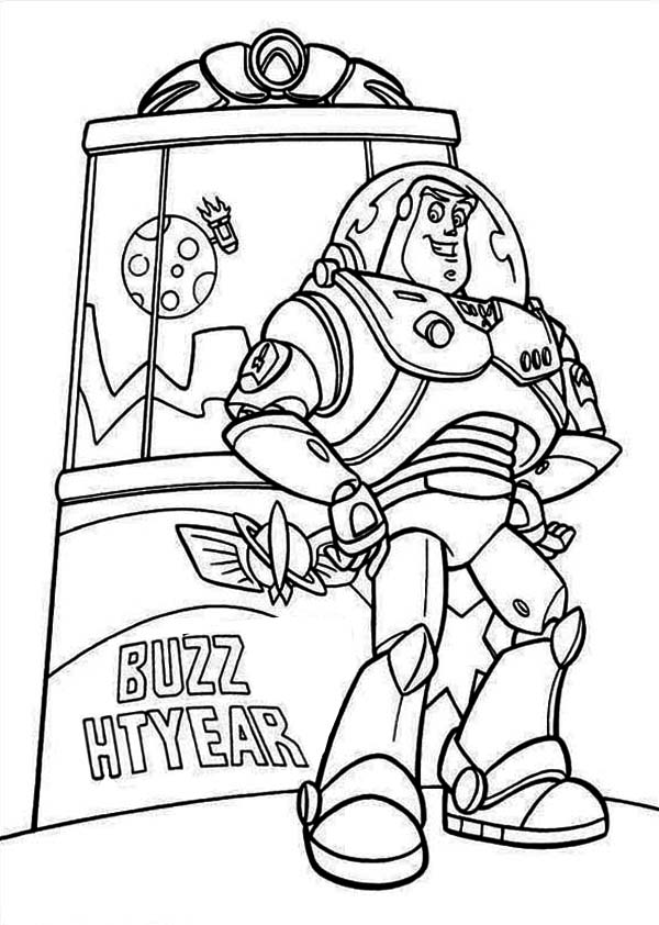 toy story zurg coloring pages - buzz and zurg coloring pages