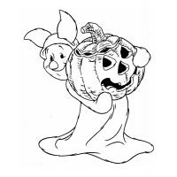 Pooh bear coloring pages