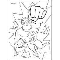 Incredibles 2 coloring pages