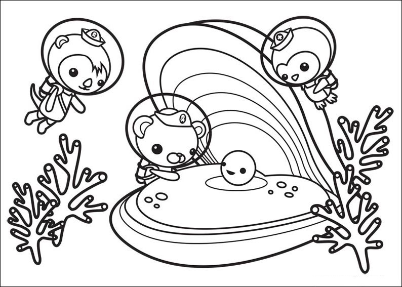 octonauts coloring pages disney jr printable