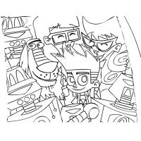 Johnny Test Coloring Pages