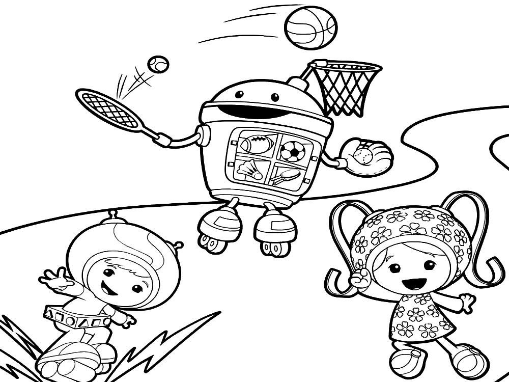 umizoomi coloring pages - Umizoomi Coloring Pages Printable