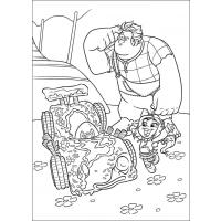 Wreck-It Ralph coloring pages
