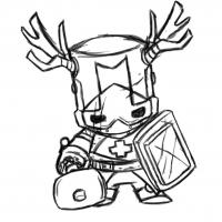 Castle Crashers Coloring Pages