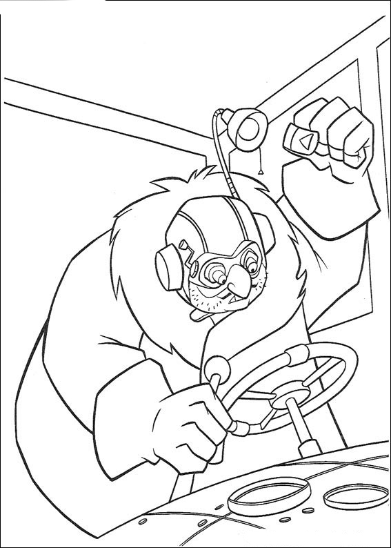 Atlantis coloring pages for Richard scarry coloring pages