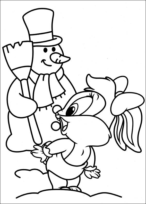free looney tunes themed coloring pages | Baby Looney Tunes coloring pages