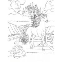 Coloring pages of Bella Sara