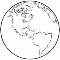 Earth coloring pages