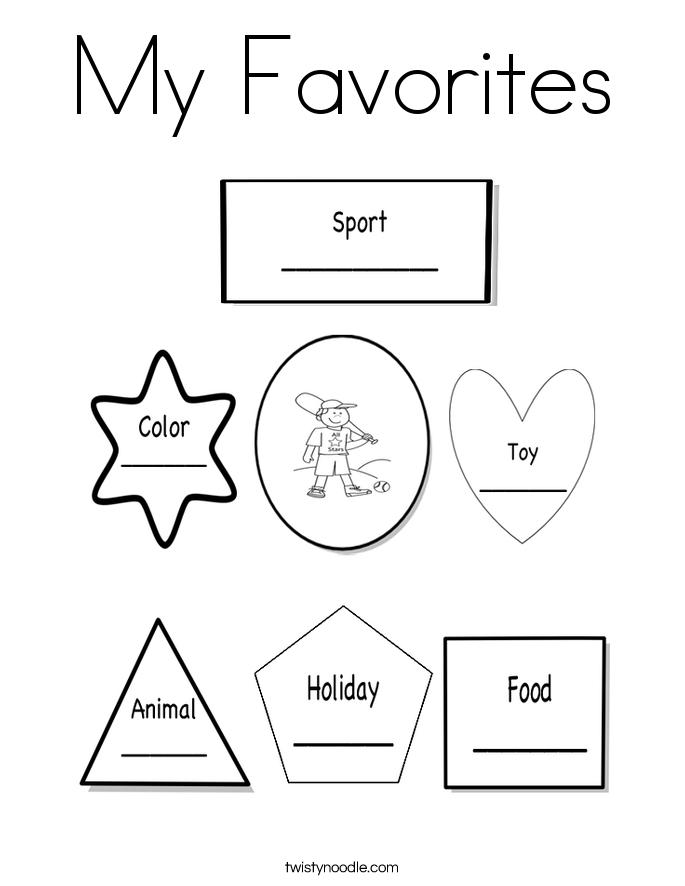 Delicieux All About Me Coloring Pages