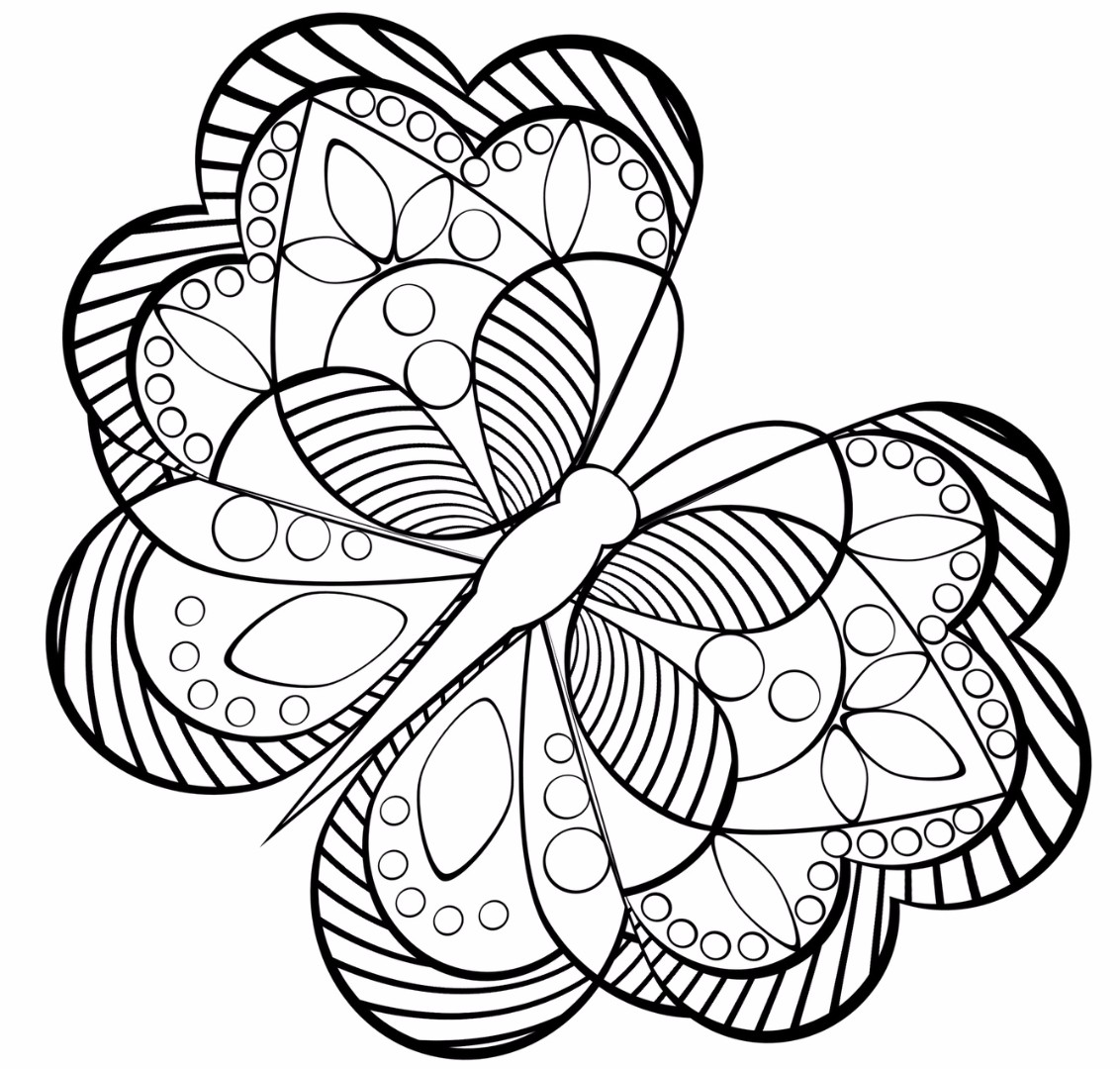 Coloring Pages Anti Stress For Children on adult coloring pages for anxiety