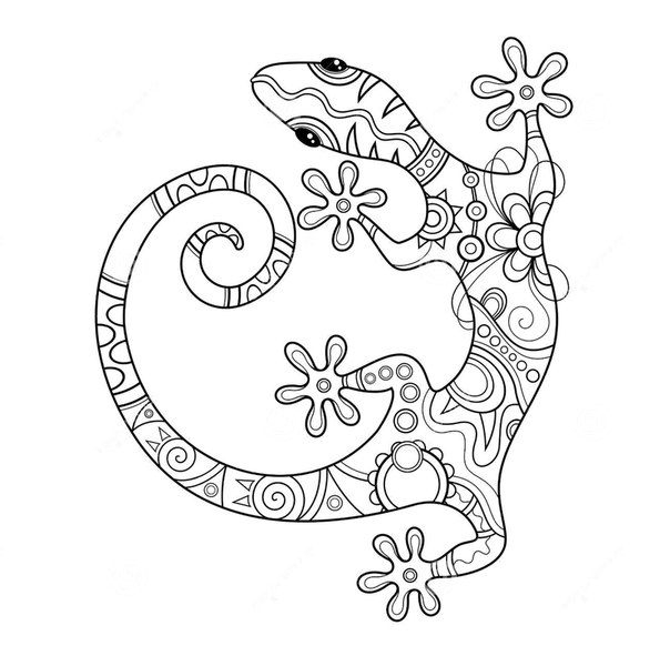 Coloring Pages Anti Stress For Children