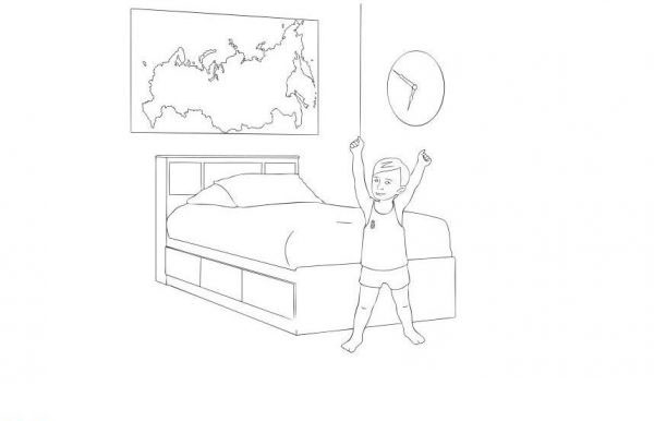 live healthy coloring pages - photo#47