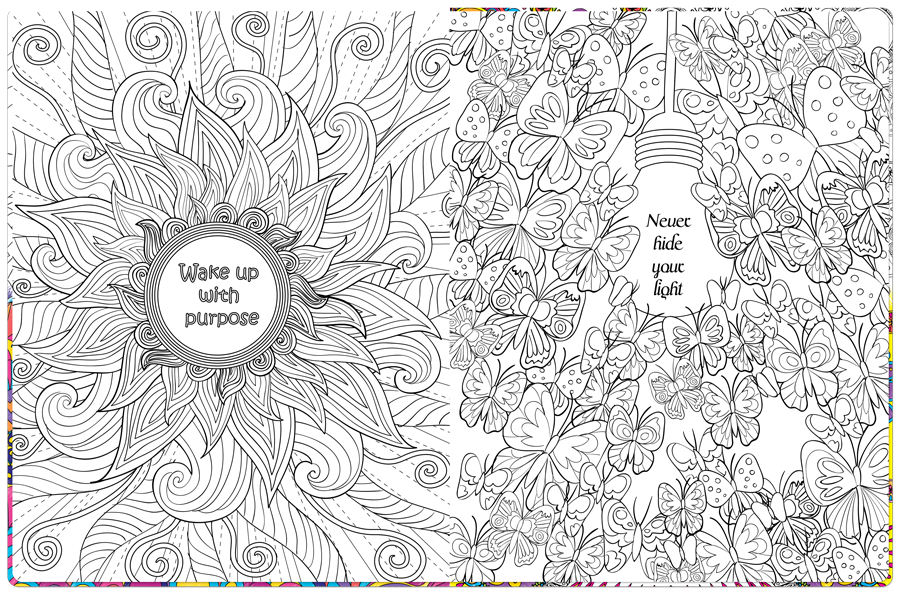 inspirational coloring pages - Inspirational Coloring Pages For Adults