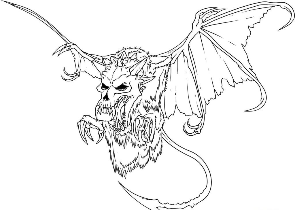 dragon coloring pages for adults - Real Dragon Coloring Pages