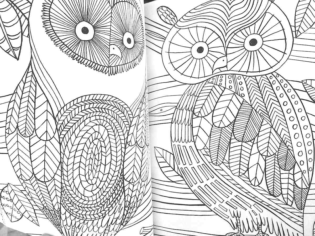 Coloring pages for teens with anxiety - Therapy Coloring Pages