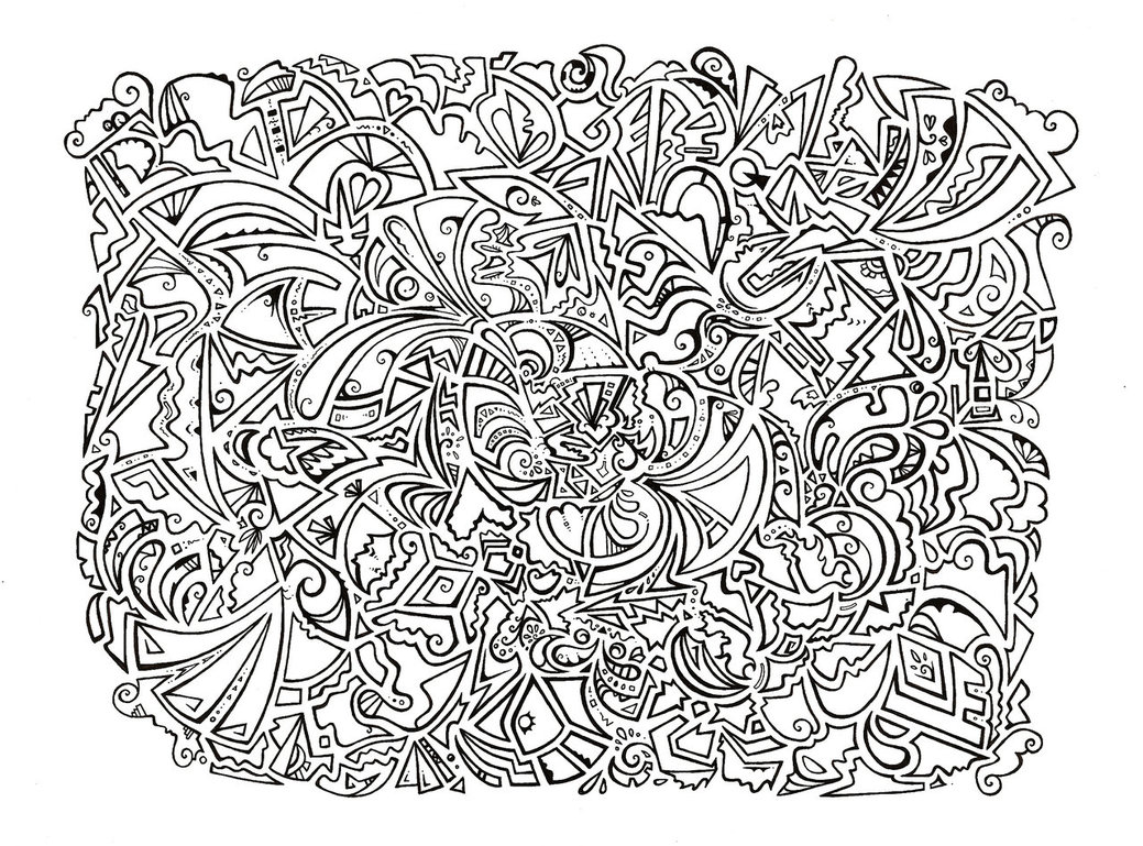 psychedelic coloring pages - Psychedelic Coloring Pages For Adults