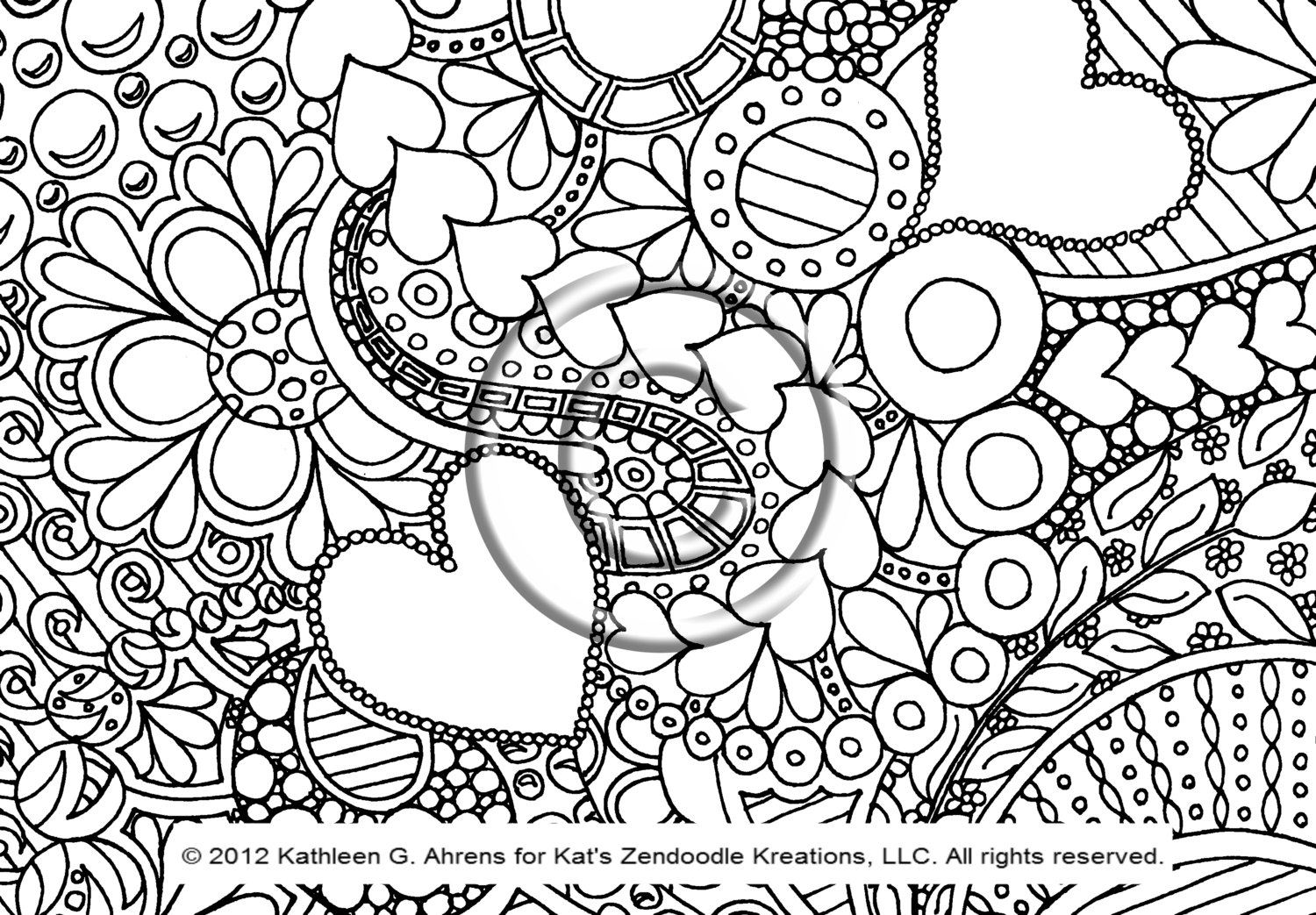 pattern animal coloring pages - Animal Coloring Pictures To Print