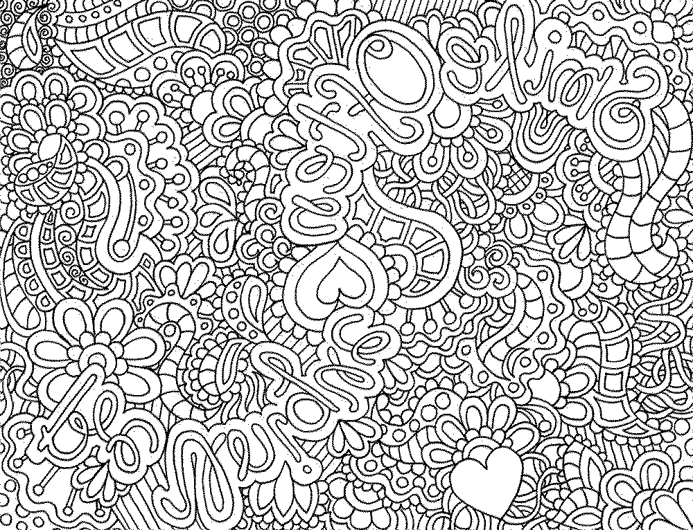 Detailed Coloring Pages For Adults Enchanting Coloring Pages