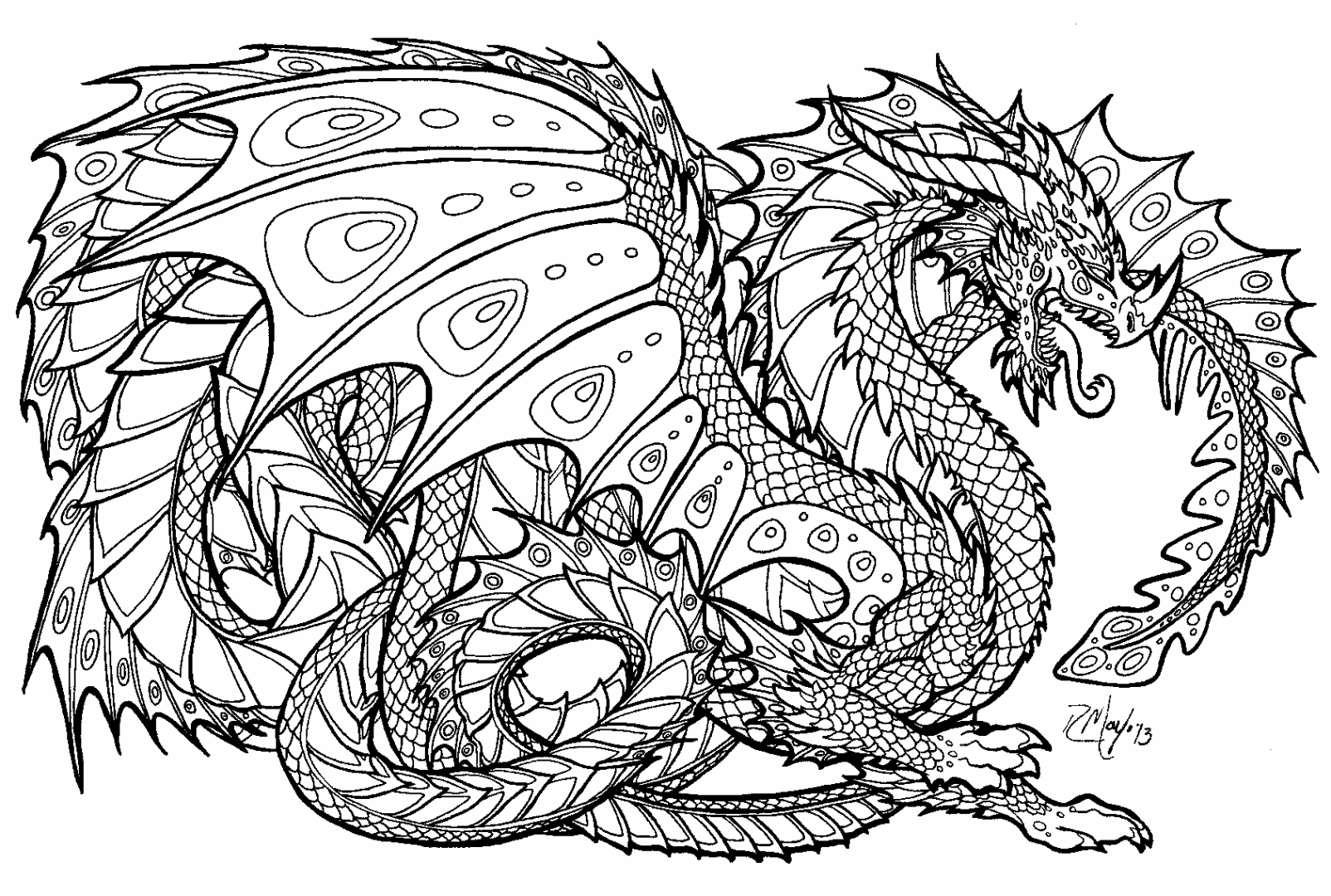 detailed coloring pages - Detailed Coloring Pages 2