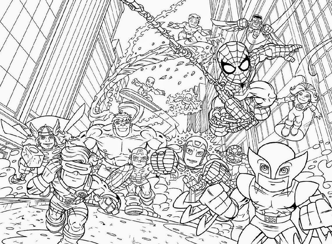 detailed coloring pages - Boys Coloring Pages