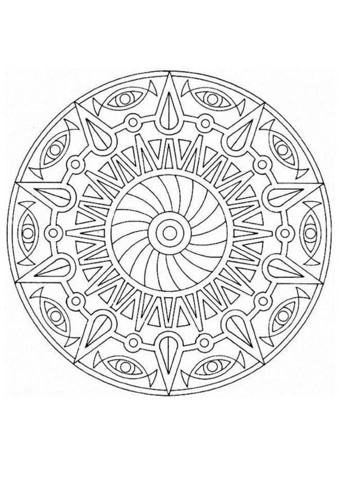 detailed coloring pages - Detailed Coloring Pages For Kids