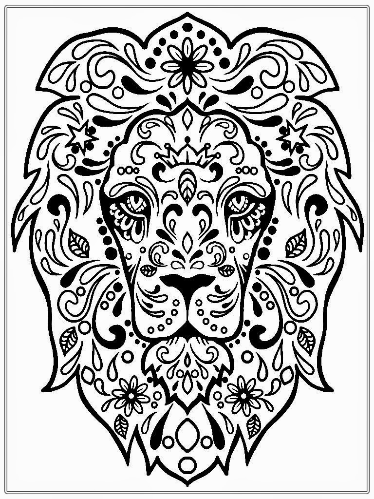 Adult Color Page Coloring Pages To Print