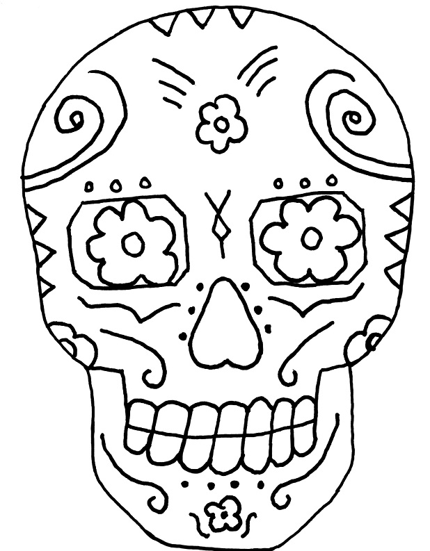 Dia De Los Muertos Coloring Pages Endearing De Los Muertos Coloring Pages Design Inspiration
