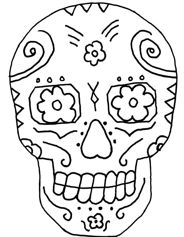 Dia De Los Muertos Coloring Pages Best De Los Muertos Coloring Pages Decorating Inspiration