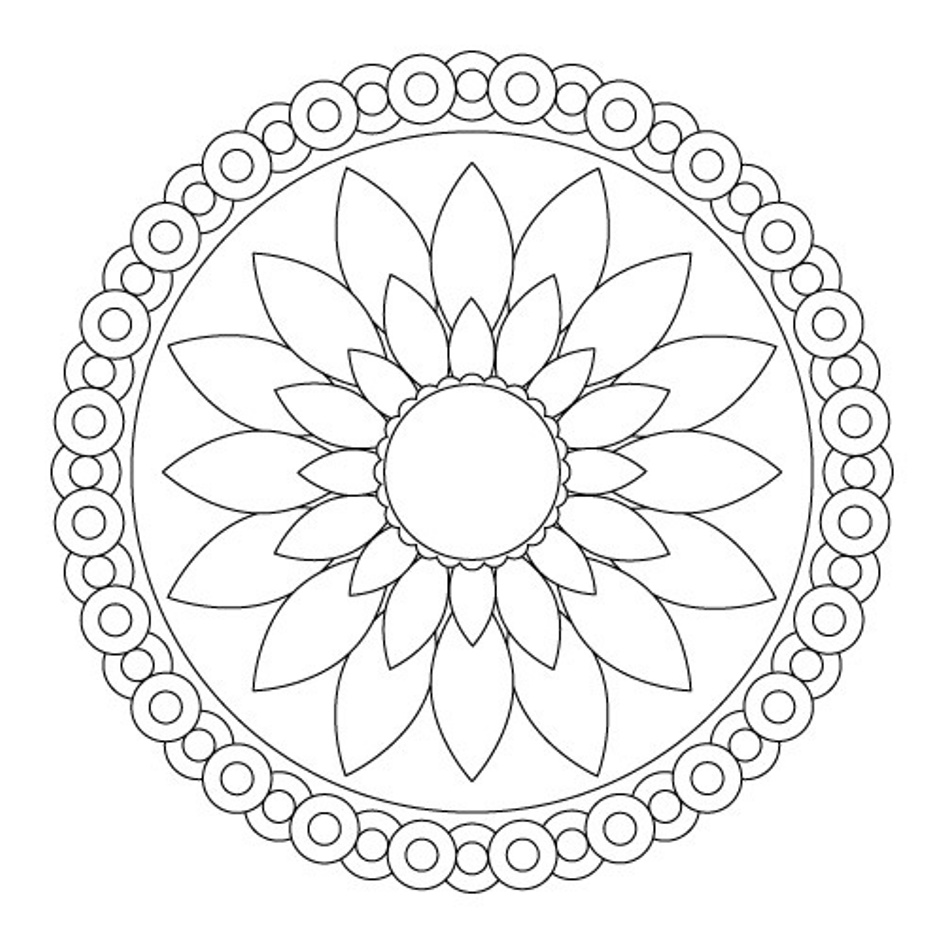 Charming Coloring Pages Abstract Simple Contemporary