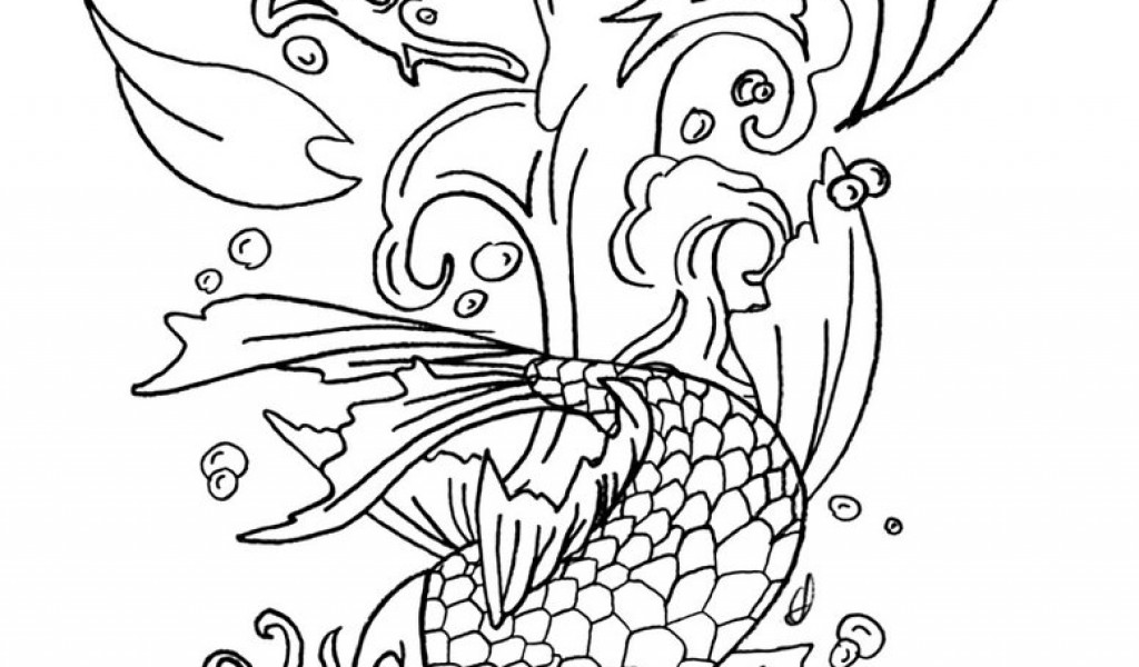 Fish Coloring Pages Realistic Coloring Coloring Pages