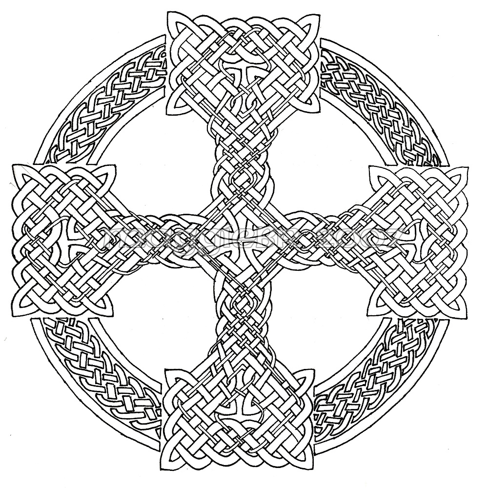 knot coloring pages