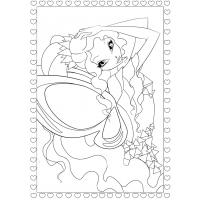Winx Tynix coloring pages
