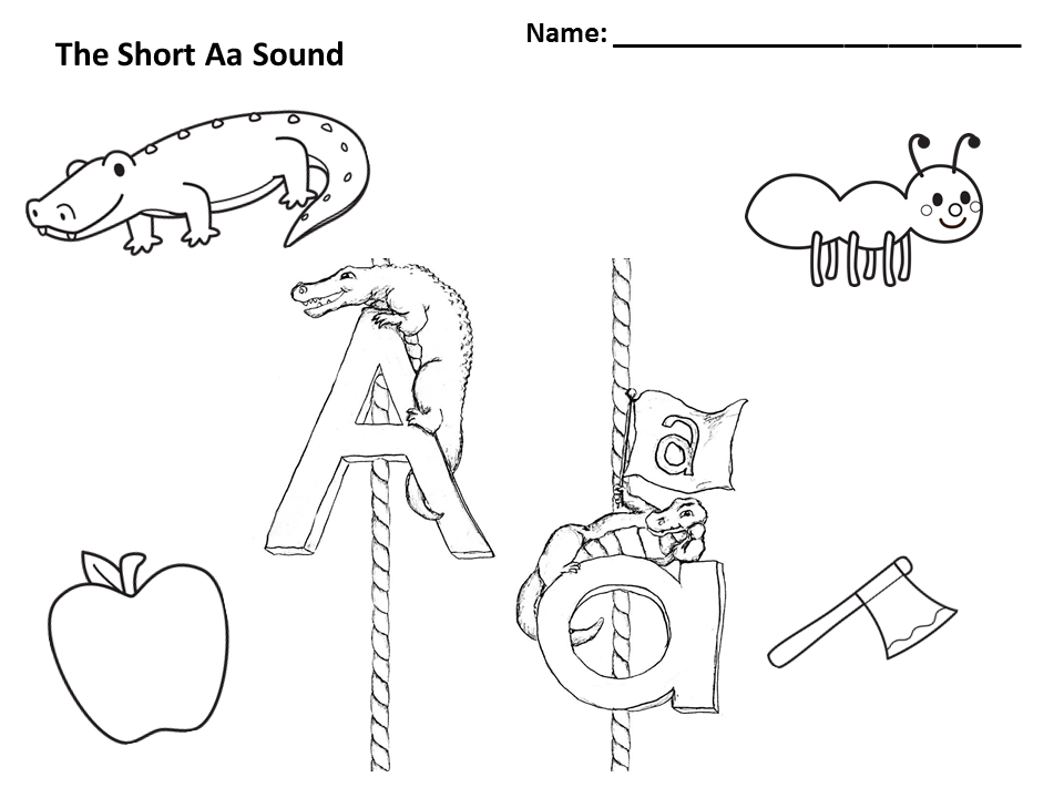 s sound coloring pages - S Coloring Page