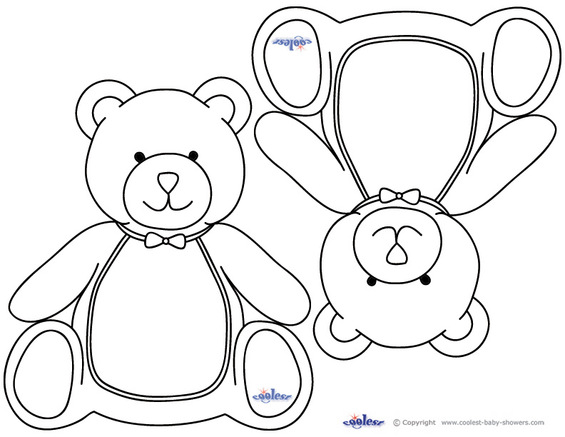Baby Shower Coloring Pages Printable Free Books