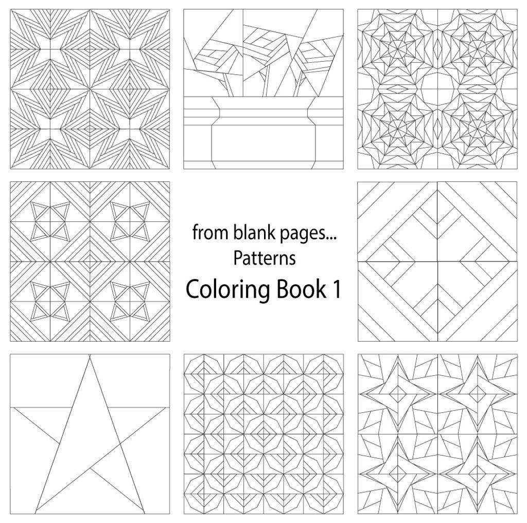 quilt coloring pages - Coloring Page Quilt