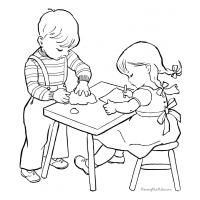 School coloring pages
