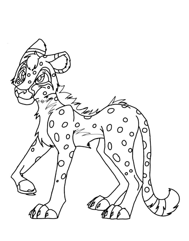 cheetah girls coloring pages - photo#8