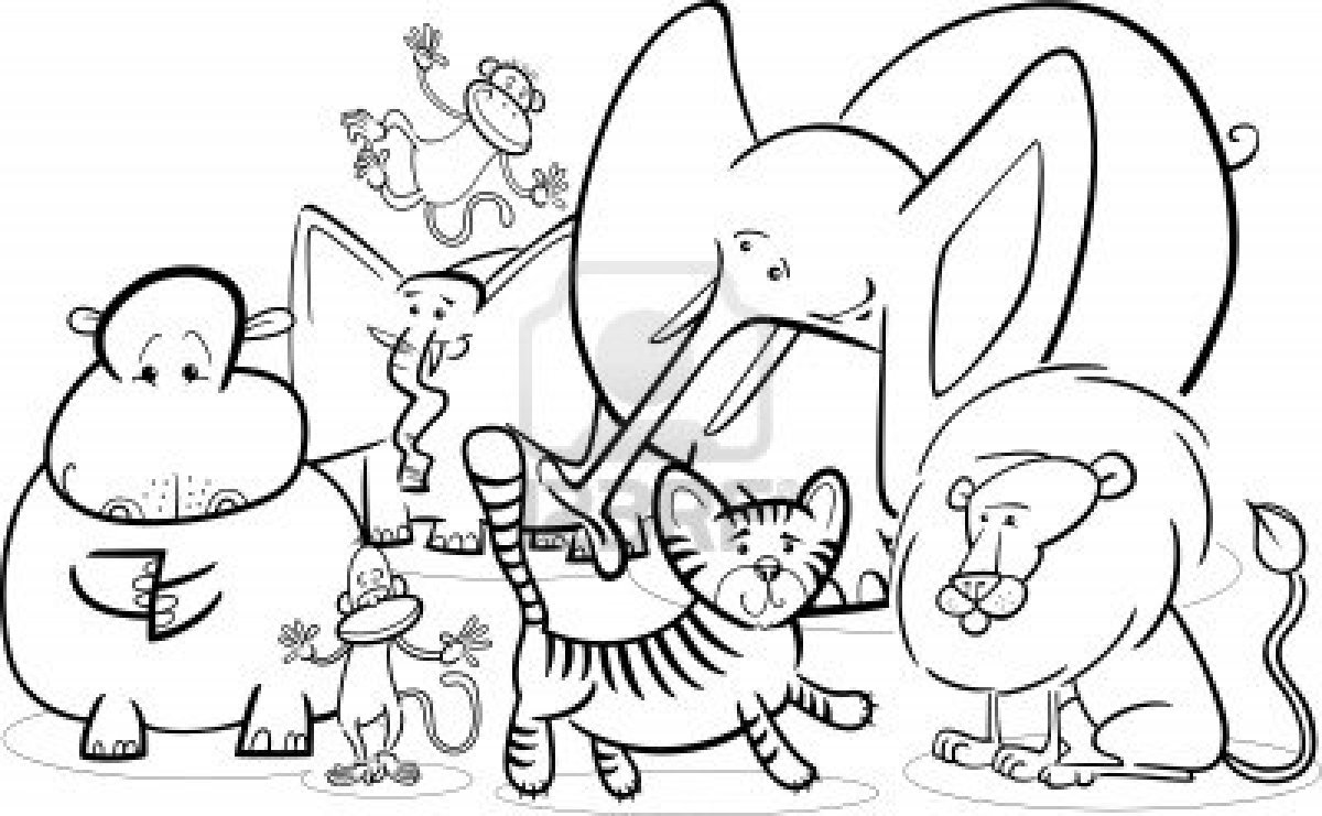 Safari coloring pages to download and print for free
