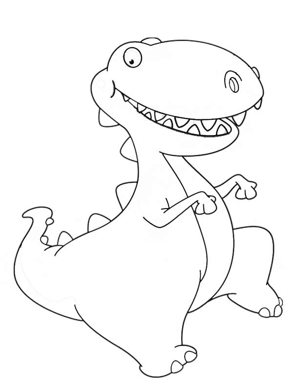 coloring pages dinosaurs triceratops baby - photo#19